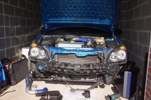 Intercooler Removed