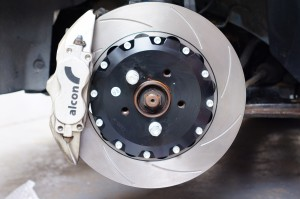 Alcon Caliper and 356mm Disc