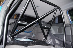 Roll Cage showing Eyelets