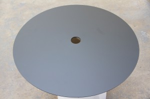 Perspex Spare Wheel Well Cover