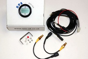 Spa Dual Digital Oil Temperature Gauge