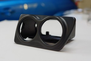 Dual Gauge Pod - Satin Black