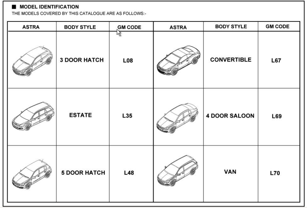 Astra h useful information astra h vxr sprint astra h model ident asfbconference2016 Images